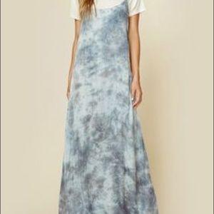 Blue life Kate silk maxi dress